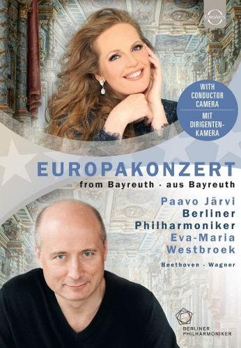 Berlínští filharmonikové / Paavo Järvi - EuroArts - Europakonzert 2018 From Bayreuth (DVD, 2018)