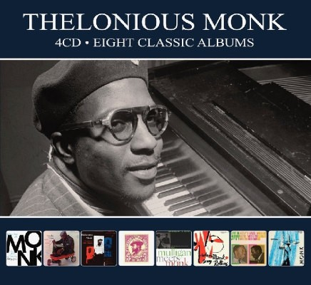 Thelonious Monk - 8 Classic Albums (4CD, Digipack 2018)
