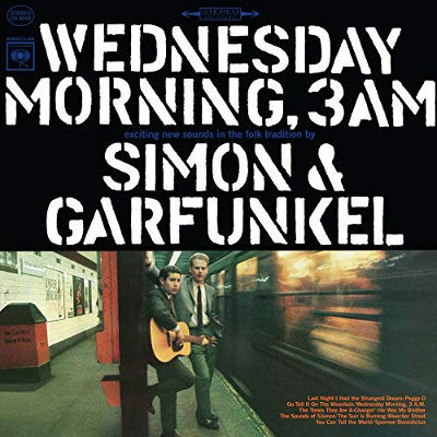 Simon & Garfunkel - Wednesday Morning, 3AM (Reedice 2018) - Vinyl