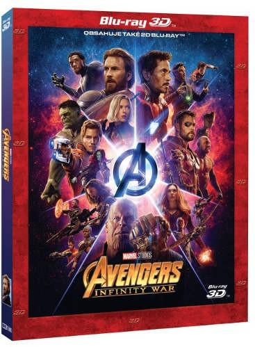 Film/Akční - Avengers: Infinity War 2BD (3D+2D) - Limitovaná sběratelská edice