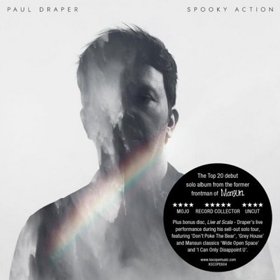 Paul Draper - Spooky Action / Live At Scala (2CD, Edice 2018)