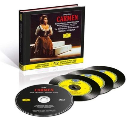Georges Bizet - Carmen (3CD+Blu-ray Audio, 2018)