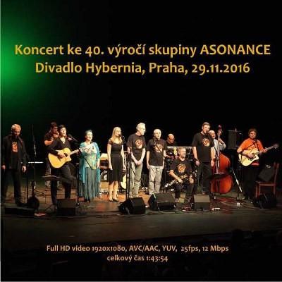 Asonance - Koncert ke 40. výročí skupiny ASONANCE (USB, 2018) TENKY DIGIPACK
