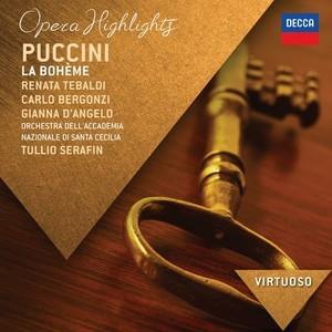 Puccini, Giacomo - La Bohème - Highlights - Tebaldi, Bergonz
