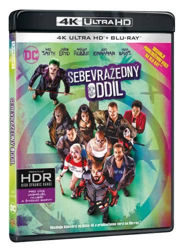 Film/Sci-fi - Sebevražedný oddíl (2BRD, UHD+BD)