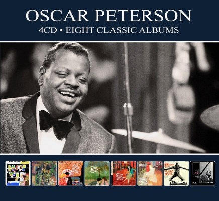 Oscar Peterson - 8 Classic Albums (4CD, Digipack 2018)
