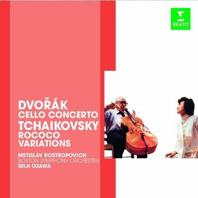 Mstislav Rostropovich - Cellokonzert Op.104/Rococo Variationen