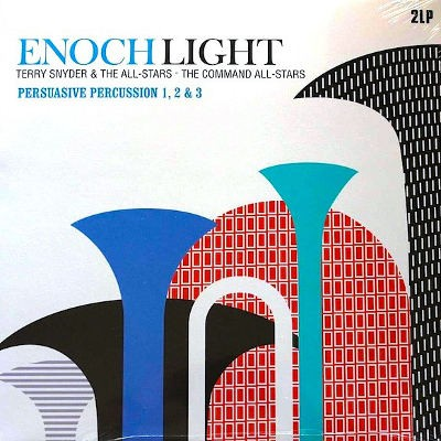 Enoch Light, Terry Snyder & The All Stars, The Command All-Stars - Persuasive Percussion 1, 2 & 3 (2013) - Vinyl