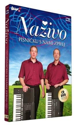 Naživo - Písničku s námi zpívej  (CD + DVD)