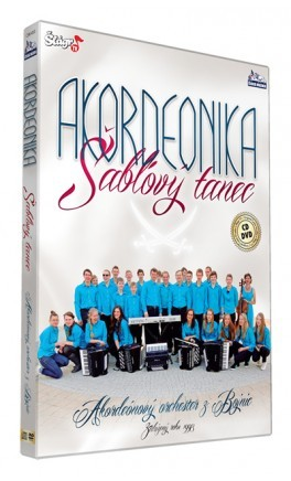 Akordeonika - Šablový tanec/CD+DVD