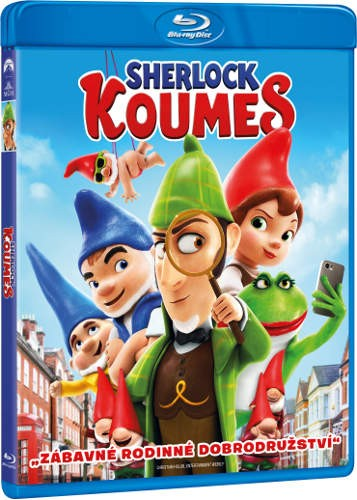 Film/Animovaný - Sherlock Koumes (Blu-ray)