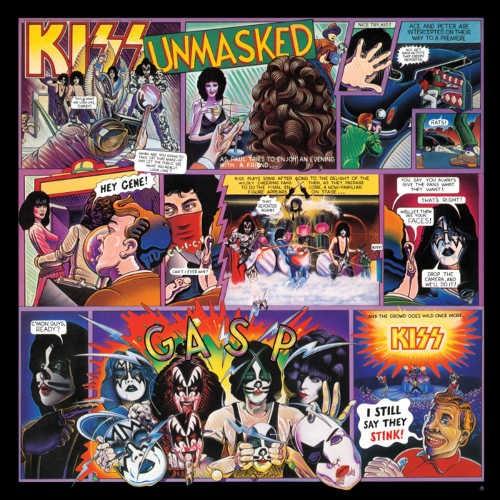 Kiss - Unmasked/German Version