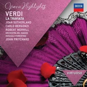 Joan Sutherland ,Berg - Giuseppe Verdi - La Traviata - Highlights - Sutherland, Berg