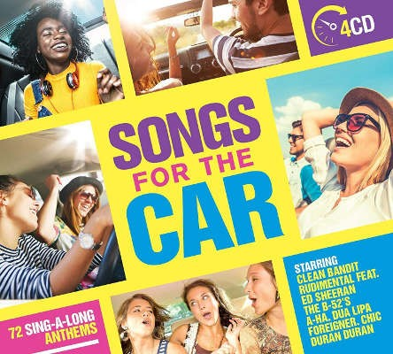 Various Artists - Songs For The Car (4CD, 2018)