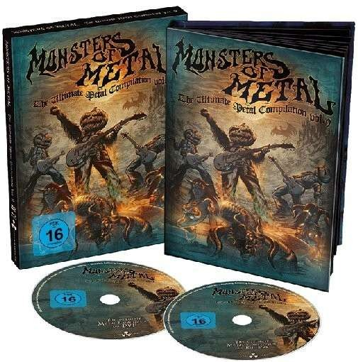 Various Artists - Monsters of Metal: Volume 9(2014) (Blu-Ray + DVD) DVD+BRD