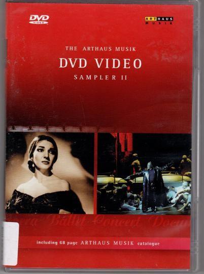 Various Artists - Arthaus Musik DVD-Video Sampler II
