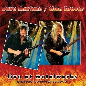 Dave Martone/Glen Drover - Live At Metalworks/CD+DVD