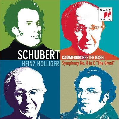 Franz Schubert / Heinz Holliger - Symfonie Č. 9 / Kouzelná Harfa (Edice 2018)