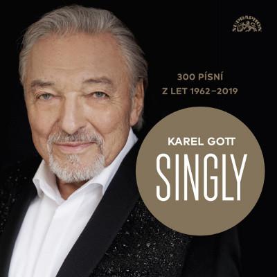 Karel Gott - Singly / 300 písní z let 1962-2019 (15CD, 2019)