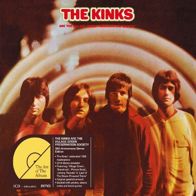 Kinks - Kinks Are The Village Green Preservation Society (Reedice 2018)