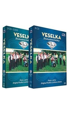 Veselka - Diamantový Komplet 10CD+3DVD