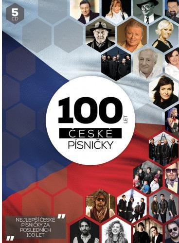 Various Artists - 100 let české písničky (5CD BOX 2018) DVD OBAL
