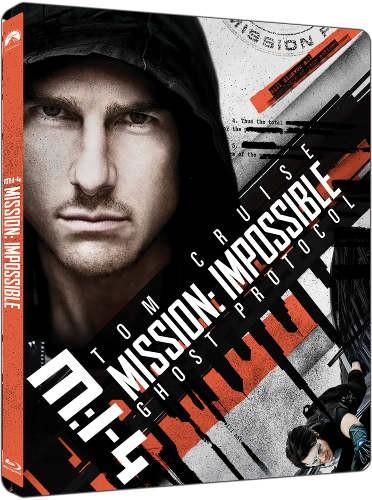 Film/Akční - Mission: Impossible Ghost Protocol (2Blu-ray UHD+BD) - steellbook