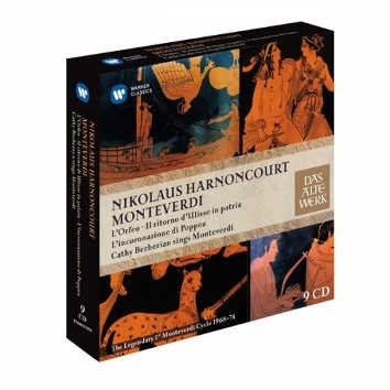 Nikolaus Harnoncourt - L'Orfeo, Il Ritorno, L'Incoronazione, Berberian Sings Monteverdi