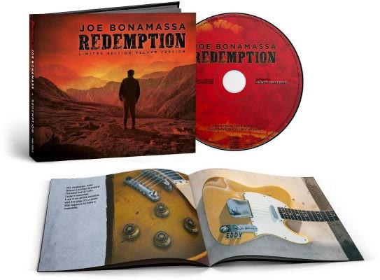 Joe Bonamassa - Redemption (Limited Mediabook, 2018)