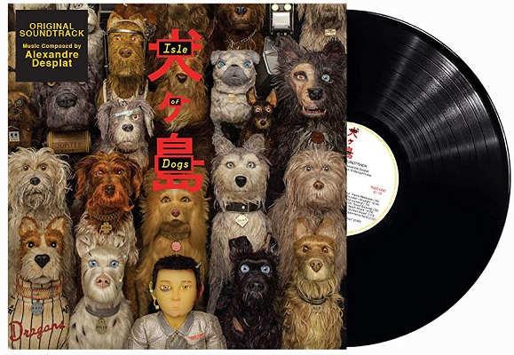 Soundtrack / Alexandre Desplat - Isle of Dogs / Psí ostrov (OST, 2018) - Vinyl