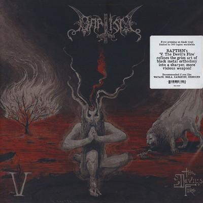 Baptism - V: The Devil's Fire (2016) - Vinyl