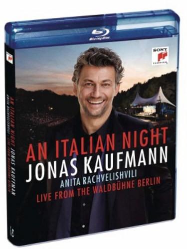 Jonas Kaufmann, Anita Rachvelishvili - An Italian Night - Live From The Waldbühne Berlin (Blu-ray, 2018)