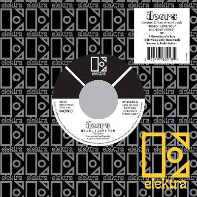"Doors - Hello, I Love You (Single, 50th Anniversary Edition 2018) - 7"" Vinyl"