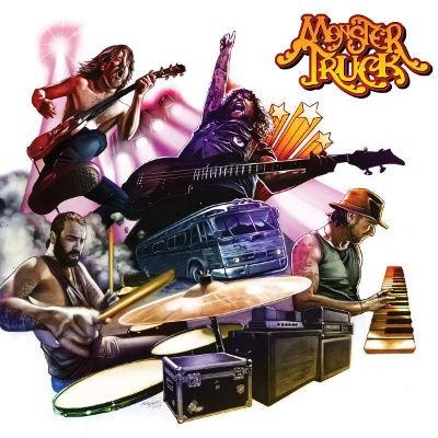 Monster Truck - True Rockers (Limited Gold Vinyl, 2018) - Vinyl