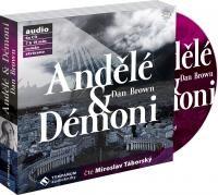 Dan Brown/Miroslav Táborský - Andělé a démoni/Zkrácená verze MP3