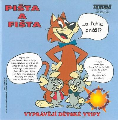 Various - Pišta a Fišta vyprávějí dětské vtipy