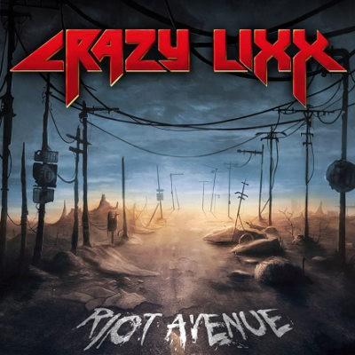 Crazy Lixx - Riot Avenue (Limited Blue Vinyl, Reedice 2018) – Vinyl