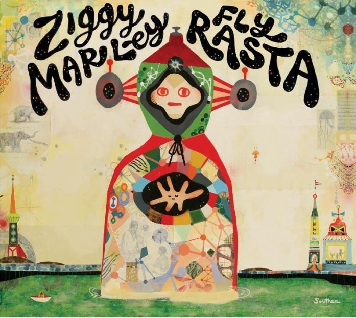 Ziggy Marley - Fly Rasta (2014) - Vinyl