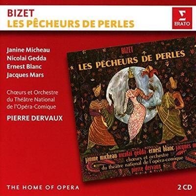 Georges Bizet / Pierre Dervaux - Lovci Perel/Les Pecheurs De Perles (Edice The Home Of Opera 2016)