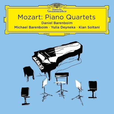 Wolfgang Amadeus Mozart / Daniel Barenboim - Klavírní kvartety - Live (2018)