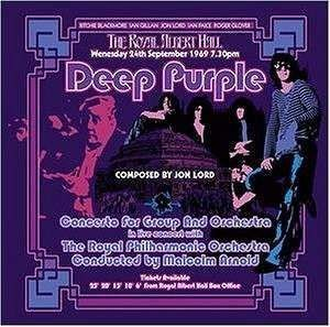 Deep Purple - Concerto For Group And Orchestra (2002 Remix/Remaster) - 180 gr. Vinyl