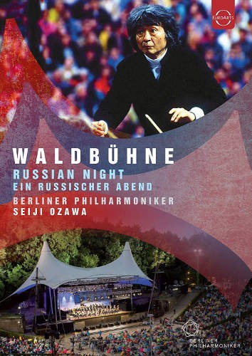 Berlínští filharmonici, Seiji Ozawa - Waldbühne, Berlin 1993: Russian Night (DVD, 2018)