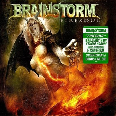 Brainstorm - Firesoul (Limited Edition, Digipack)