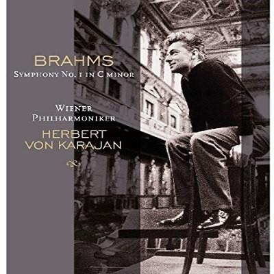 Johannes Brahms / Herbert Von Karajan, Vídenští Filharmonici - Symfonie Č. 1 V C-Moll / Symphony No. 1 In C Minor (Edice 2017) - Vinyl