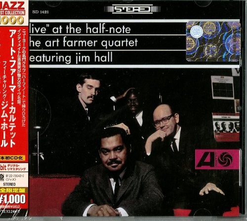 Jim Art Farmer Quartet Feat.Hall - Live at the Half-Note
