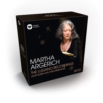 Martha Argerich - Lugano Recordings (22CD BOX 2018)