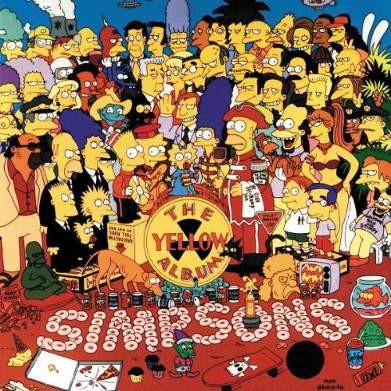 Simpsons - Yellow Album