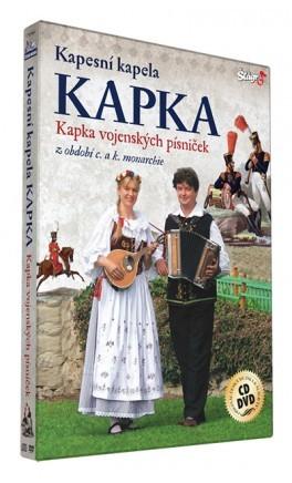 Kapesní kapela kapka - Kapka vojenských písniček/CD+DVD
