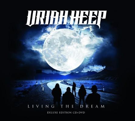 Uriah Heep - Living The Dream (CD+DVD, 2018)