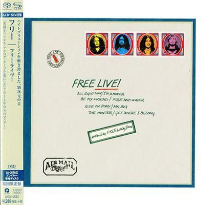 Free - Free Live! (Japan, SHM-SACD 2014)